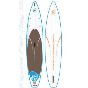 "Kajuna Flat-Ray LE 12'6"" Touring inflatable SUP Board"