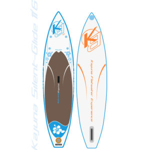 "Kajuna Silent-Glide PowerFlower 11'6"" Touring inflatable SUP Board"